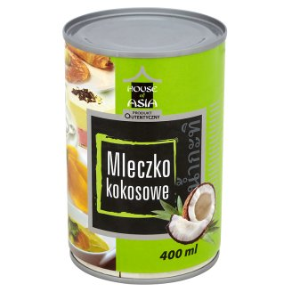 House of Asia Mleczko kokosowe 400 ml